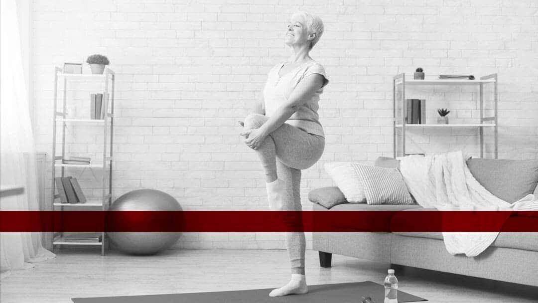 Gonartrosi del ginocchio: controllare il dolore con 5 facili esercizi